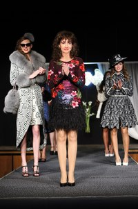 catwalk, annecy, france, LaRena, fashionglamcouture, mink, chinchilla, fox, lynx, lace, fabric, coat, dress, luxury